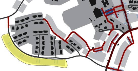 Figur 10. planerad nybyggnation utmed Sunnerstavägen
